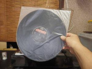レコード盤 内カバー