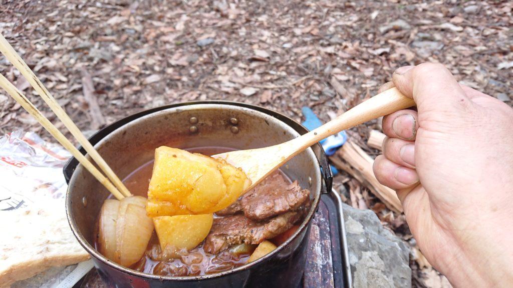 ビーフシチューのジャガ芋